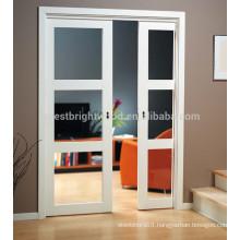 Most popular interior glass sliding door