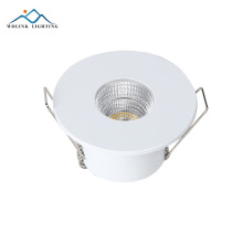 Wolink quality ceiling recessed rated cob led downlight fixture adjustable