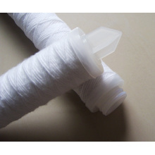 Cartucho de filtro de tecido com tampas de extremidade ou conexões