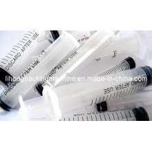 Disposal Syringe Package in Flow Wrapping Machine