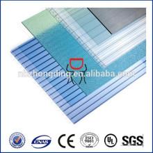 УФ блокирующие полых поликарбонатных панелей теплицы