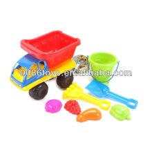 2013 juguetes plásticos de la playa de la arena del verano fijados para