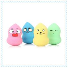 Formas coloridas laváveis de esponja cosmética de alta qualidade para maquiagem