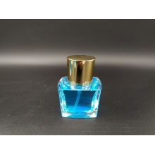 15ml mini square bottle perfume glass spray