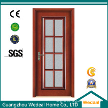 Puerta deslizante / plegable de fibra de vidrio para patio, estilo francés, interior y de madera