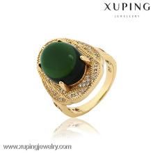 12846- China Moda de imitación de la joyería de Xuping para los anillos de oro del hombre con alta calidad