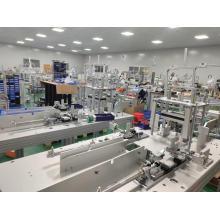 Automatische Einwegmaskenherstellungsmaschine Automatische medizinische Außenohrschleifen-Gesichtsmaskenherstellungsmaschine Vliesmaskenmaschine