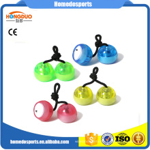 LED Plastic Fidget Yoyo Thumb chucks Begleri beads for kids/adult EDC toy