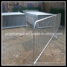 Barrera de control de multitudes de aluminio. Barrera de concierto. Stage Barrier