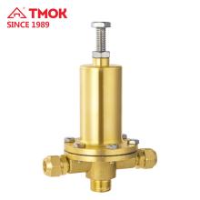 Válvula de alivio de presión de agua de color de latón de alta calidad