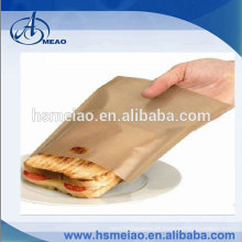 Sacos reutilizáveis de torradeira antiaderente para sanduíches de queijo grelhado