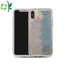 Glitter Liquid Bling Quicksand Bluelight Plastic telefoonhoes