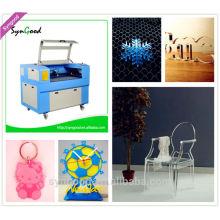 Machine à découper acrylique laser bon marché Syngood SG6090 pour bois / acrylique / Papier