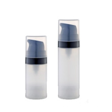 10ml 15ml Eco Friendly PP Plastic Round Airless Bottles