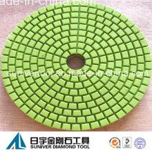 Grüne Wirtschaft Diamantschleif Pad Nassgebrauch für Granit