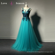 LSQ033 pictures formal dresses women girls party dresses for girls of 18 lace crystal evening dress