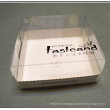 Health food packing box for bread/cake (PP printed box)