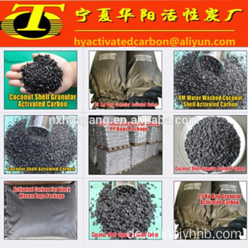 Anthracite coal granular activated carbon water treatment