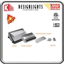 Paquet de mur de lumière de paquet de mur de mur de 120W LED LED Pack Meanwell puissance et CREE Xte LED puce CE ETL Dlc