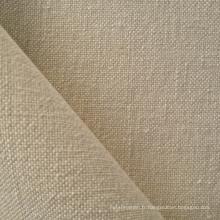 Tissu de chanvre / laine à vendre chaud en style simple (QF13-0147)