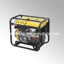 Type de châssis ouvert refroidi par air Générateur diesel simple à cylindre triphasé (DG6000E3)