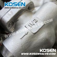 Válvula de Retenção de Pistão em Aço Inoxidável 800lb A105n