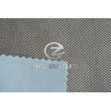 Jacquard Cordory Bonded with Mesh Fabric for Sofa