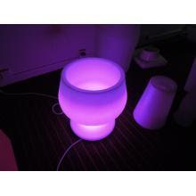 Outdoor DC Charging Waterproof LED Ice Bucket (H006)