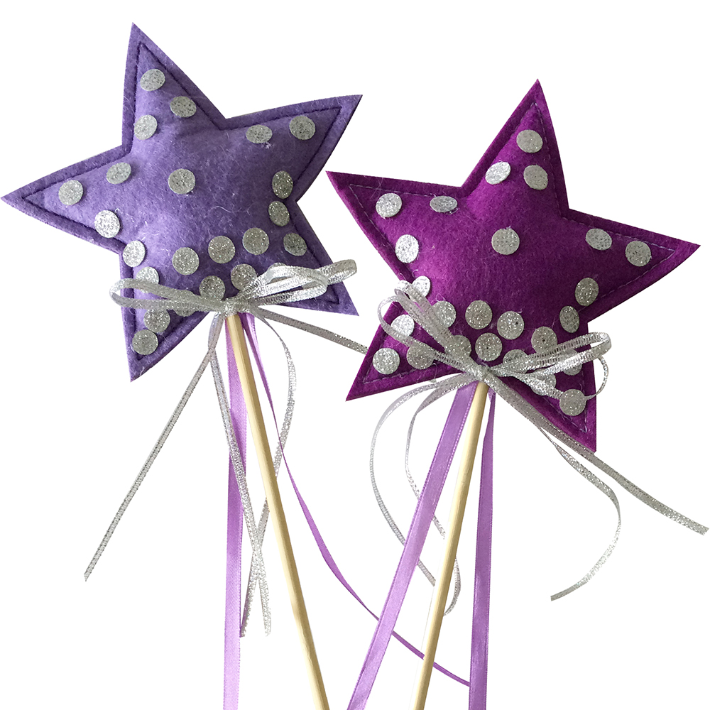 Angel Purple Fairy Wands