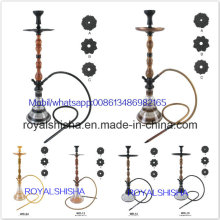 Glass Smoking Water Pipe Wholesale Aluminum Wood Nargile