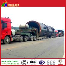Modular Type Hydraulic Loader Equipment Lowbed Truck Trailer