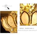 En gros Usine Prix Or Plaqué Cristal De Mariage Lustre LT-75007