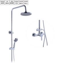 Set de douche en laiton pour bain-douche