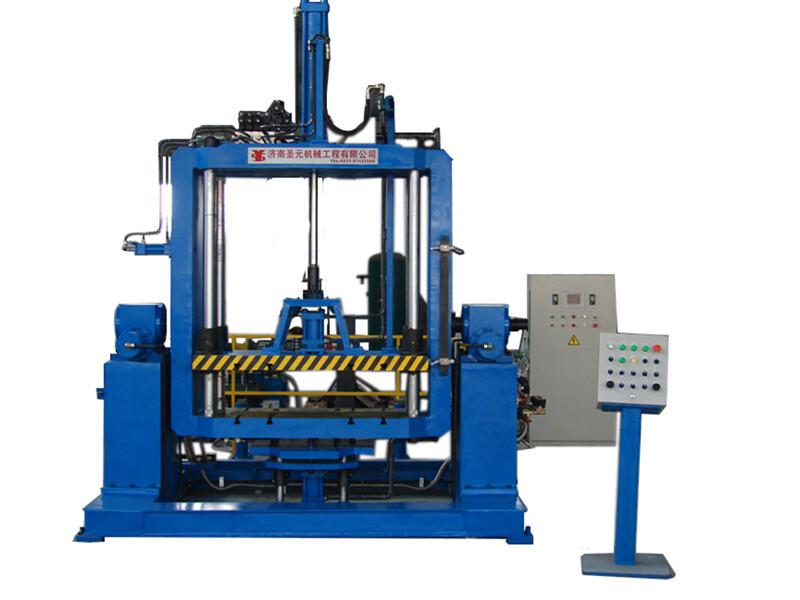 tilting metal mould gravity casting machine