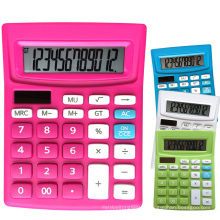 Calculatrice de bureau Dual Power de 12 chiffres