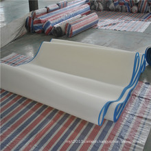 Polyester plain weave linear wire mesh belt for food conveyor