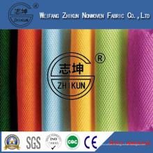 Tissu non-tissé coloré de conception Spunbond de pp pour des sacs à provisions de mode