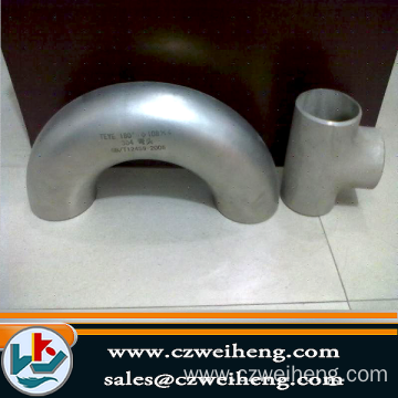 180 Stainless Degree Elbow 3A BPE Pipe Fittings Bend