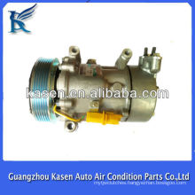 6pk sanden sd6v12 peugeot 206/307 air conditioning compressor