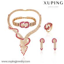 63319-Xuping Hotsale style spécial Design pour ensemble de bijoux de luxe