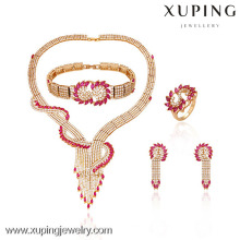 63319-Xuping Hotsale Special Style Design For Luxury Jewelry Set
