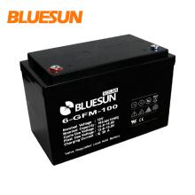 Bluesun 12 volt solar battery solar gel battery 100ah deep cycle solar 12v caravan batteries 150ah 200ah with good performance