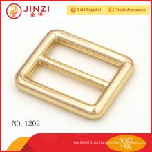 1 pulgada de aleación de zinc bolsos cinturón correa hebilla para bolsas
