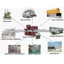 Quemador de biomasa para la venta con buena calidad