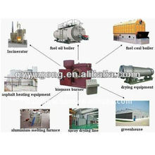 Queimador de biomassa para venda com boa qualidade