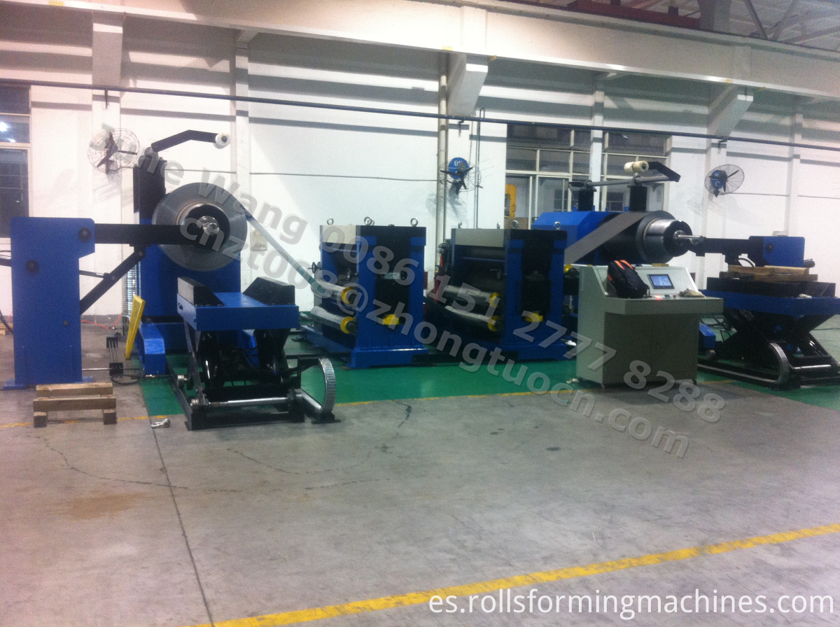 embossing machine line