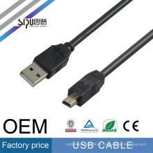 SIPU cable de alta velocidad usb 2.0 al por mayor android cable de carga mejor precio usb cámara de datos de cable