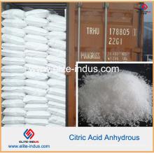 Ácido cítrico do aditivo de alimento anídrico (CAS: 77-92-9)