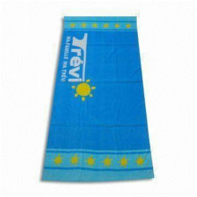 Serviette de plage Terry Soft Blue