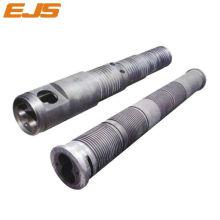 Ferrum basado en aleación en polvo bimetálico extrusora Husillo barril